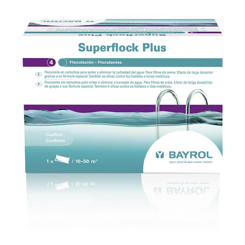 SuperFlock Plus Floculante saquito 1Kg Bayrol