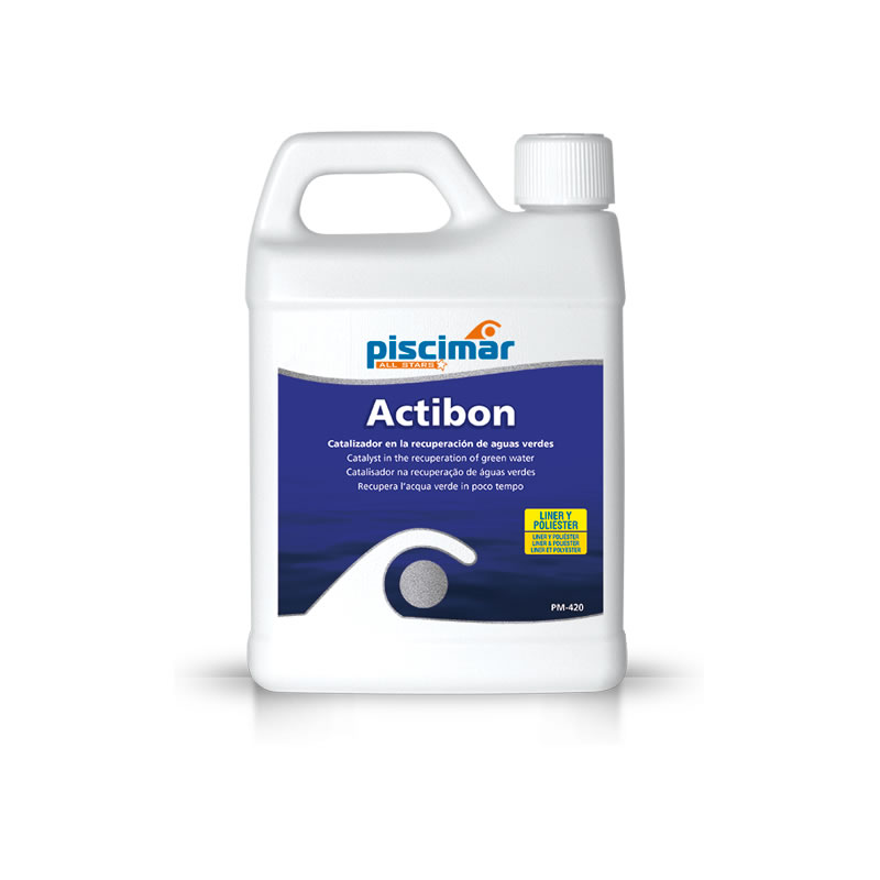 Actibon 1L catalizador en la recuperación de aguas verdes