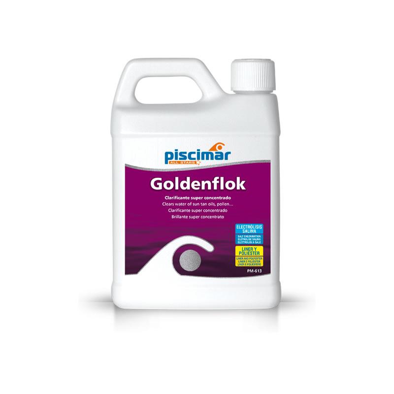 GlodenFlock 1 Litro clarificante súper concentrado